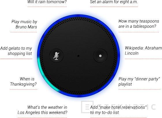 Amazon sorprende con Echo, un asistente por voz para el hogar, Imagen 2