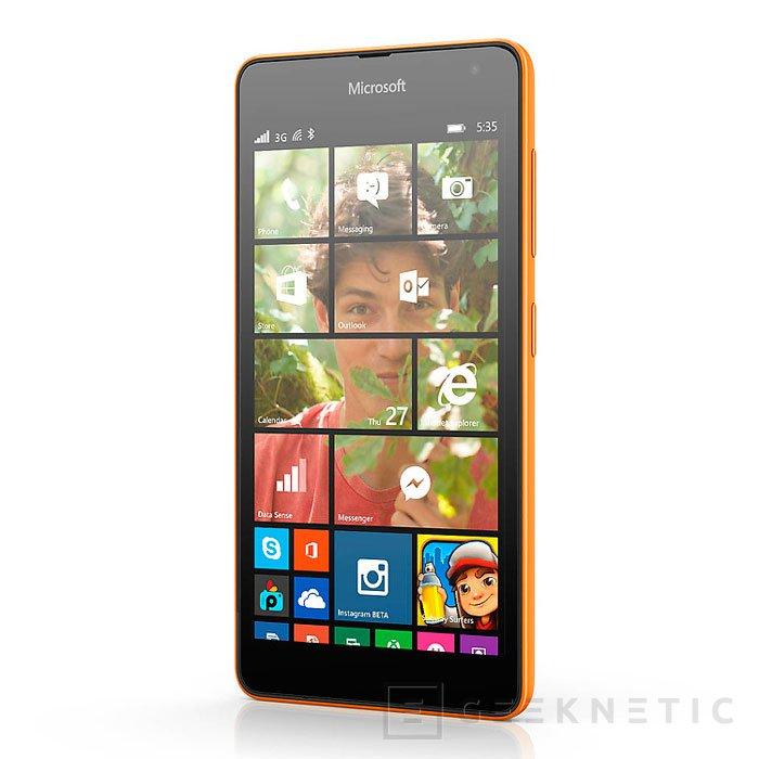 Microsoft Lumia 535: 5 pulgadas y 1 GB de RAM por 110 Euros, Imagen 2