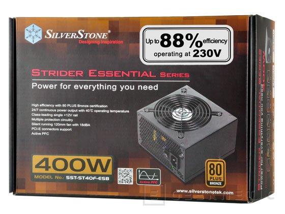 SilverStone añade dos nuevas fuentes económicas 80 PLUS Bronze a su catálogo, Imagen 2