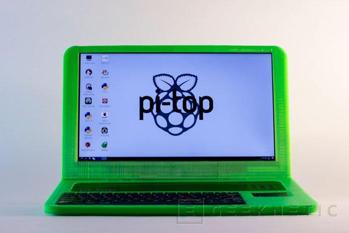 Pi-Top, un portátil que puedes imprimir en casa, Imagen 1