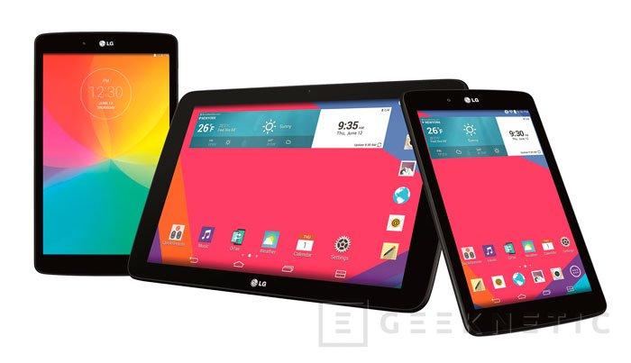LG presenta nuevos modelos de tablets G Pad con precios ajustados, Imagen 1