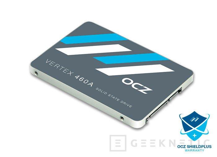 OCZ actualiza sus Vertex 460 con memorias más pequeñas y garantía ShieldPlus, Imagen 1