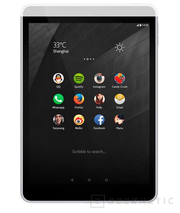La sorpresa de Nokia era el N1, un tablet con un Intel Atom Z3580, Imagen 1