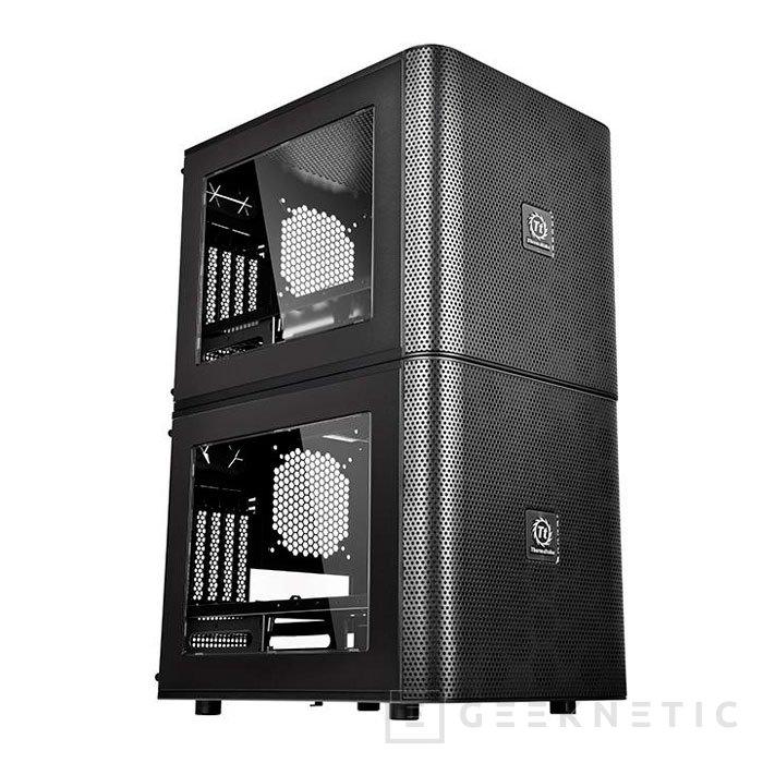 Thermaltake sorprende con su torre modular Core V21, Imagen 2