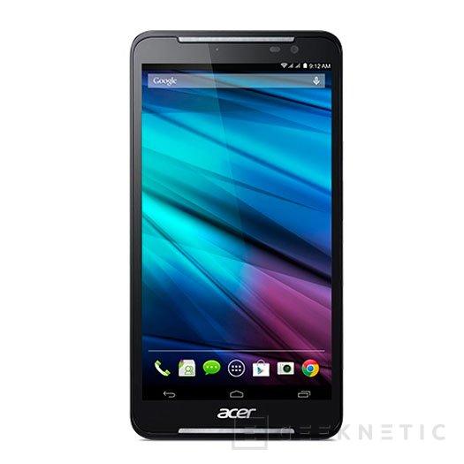 Acer presenta su nuevo Iconia Talk S, un smartphone de 7 pulgadas, Imagen 1