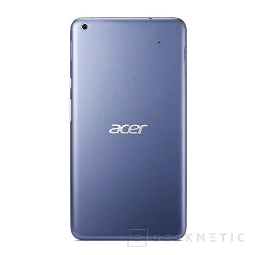 Acer presenta su nuevo Iconia Talk S, un smartphone de 7 pulgadas, Imagen 2