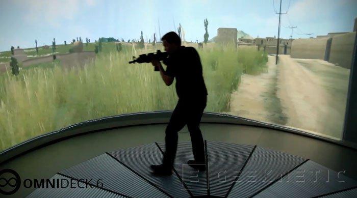 Llega Omnideck 6, la inmersión definitiva en la realidad virtual, Imagen 2