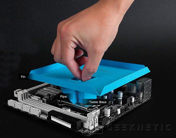 Cryorig ofrece plantillas de papel de sus disipadores para comprobar si son compatibles, Imagen 1