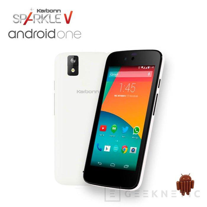 El primer terminal con Android One llega a Europa con un precio superior al esperado, Imagen 1