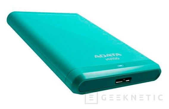 ADATA lanza los discos USB 3.0 HV100 con hasta 2 TB de capacidad, Imagen 1