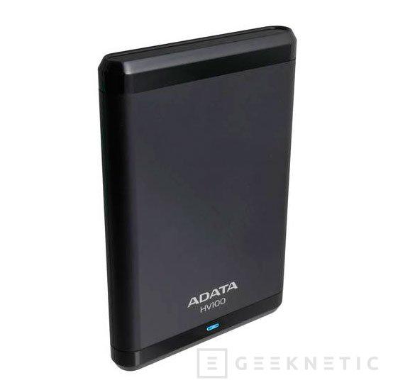 ADATA lanza los discos USB 3.0 HV100 con hasta 2 TB de capacidad, Imagen 2