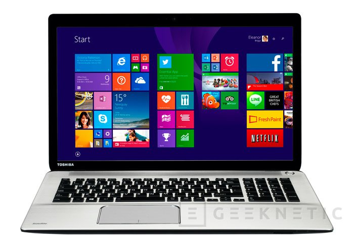 Toshiba lanza los portátiles Qosmio X70 y Satellite P70 con procesadores Core i7 y gráficas AMD, Imagen 2