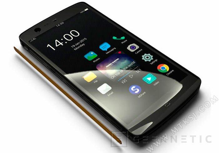 El smartphone Manta X7 prescindirá de los botones físicos, Imagen 1