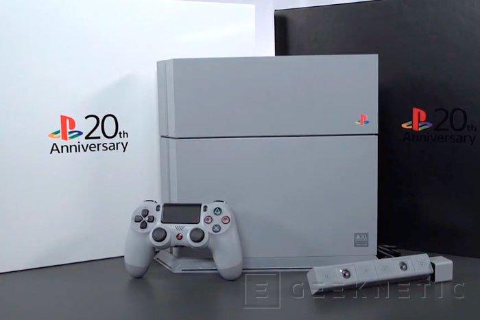 La PlayStation cumple 20 años y Sony lo celebra con una edición especial de la PS4, Imagen 1