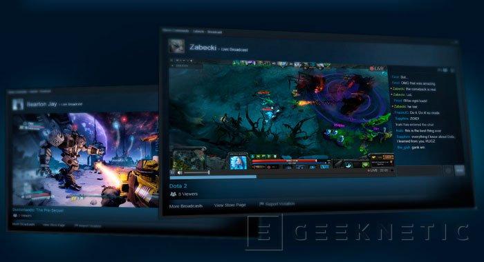 Valve ya tiene su propio Twitch en Steam, Imagen 1