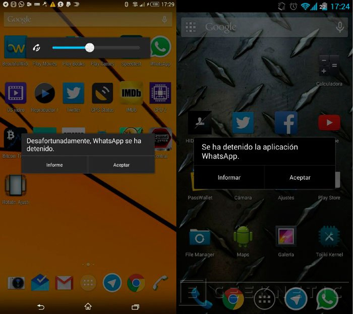 Descubren una vulnerabilidad para bloquear Whatsapp en Android mediante un mensaje especial, Imagen 1