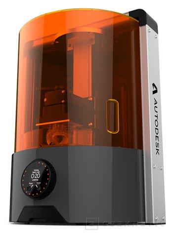 Autodesk también se sube al carro de las impresoras 3D, Imagen 1