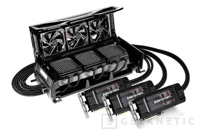 El sistema WaterForce con tres GTX 980 con RL de Gigabyte costará 3.000 Dólares, Imagen 1