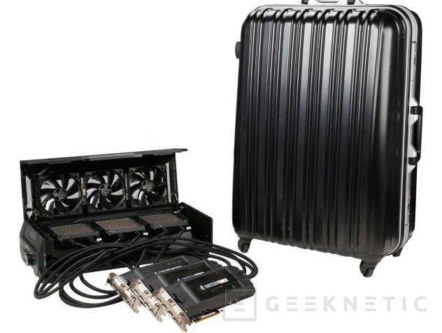 El sistema WaterForce con tres GTX 980 con RL de Gigabyte costará 3.000 Dólares, Imagen 2
