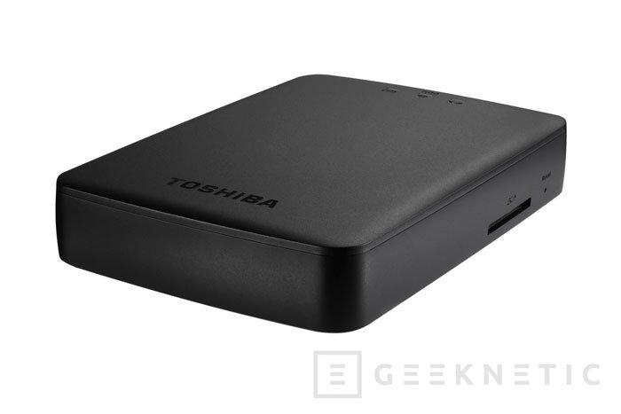 Toshiba Canvio AeroCast, un disco externo de 1 TB con WiFi, Imagen 1