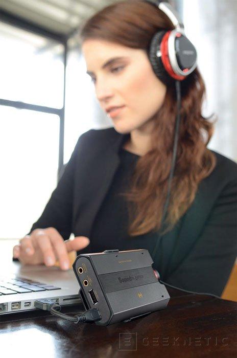 Creative trae a España su nueva tarjeta de sonido externa Sound Blaster E5, Imagen 2