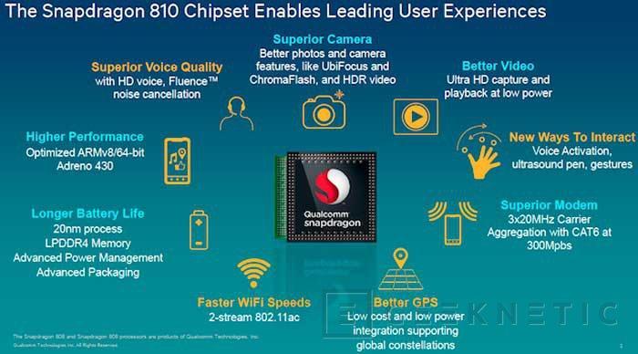 El Snapdragon 810 soportará LTE Cat9 a 450 Mbps, Imagen 1