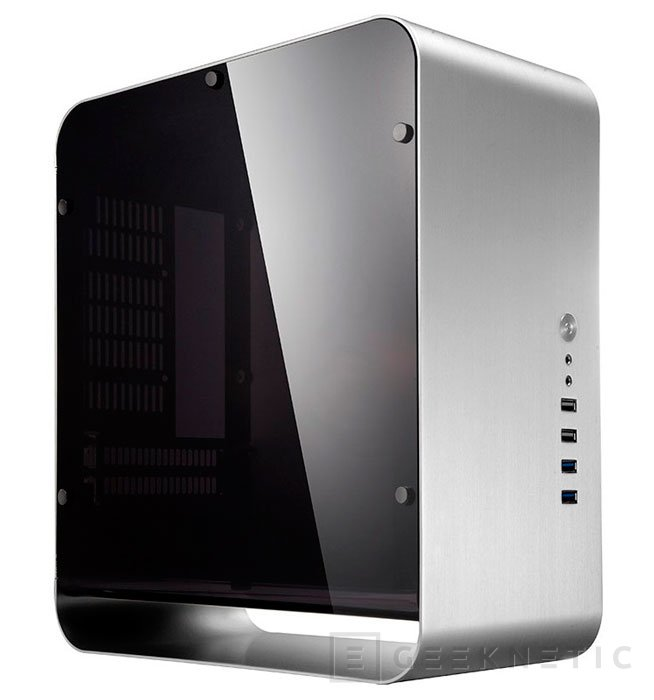 Cooltek presenta su cuidada torre mini-ITX UMX1 Plus, Imagen 1