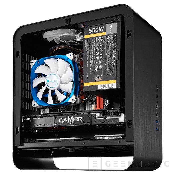 Cooltek presenta su cuidada torre mini-ITX UMX1 Plus, Imagen 2