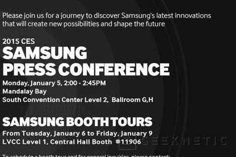 Nuevos rumores apuntan a que el Samsung Galaxy S6 se presentará en enero en el CES, Imagen 2