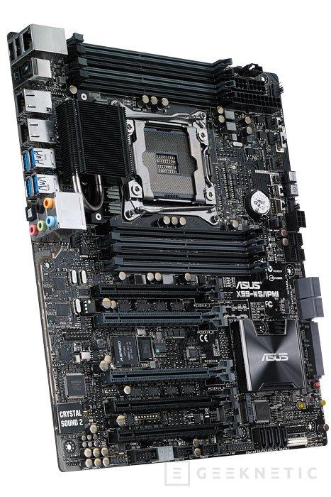 Llega a España la placa base para Workstations ASUS X99-E WS, Imagen 1