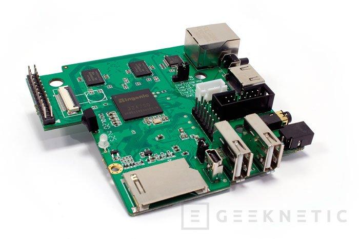 Nueva placa de desarrollo Imagination Technologies MIPS Creator CI20, Imagen 1
