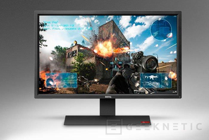 BenQ RL2755HM, nuevo monitor gaming con 1 ms de tiempo de respuesta, Imagen 1