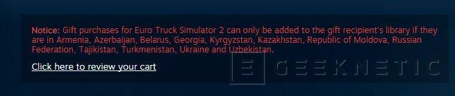 Steam comienza a aplicar bloqueo regional en algunos países, Imagen 1
