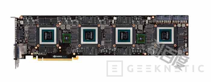 Se filtra la impresionante GeForce GTX 990 con 4 GPUs, Imagen 1