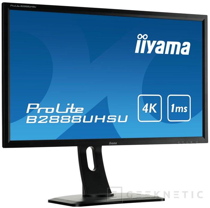 Iiyama pone al a venta el primer monitor con FreeSync, Imagen 1
