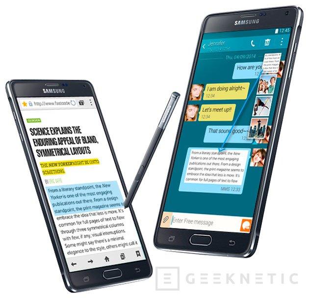 Samsung añade el Snapdragon 810 al Note 4 LTE-A, Imagen 1