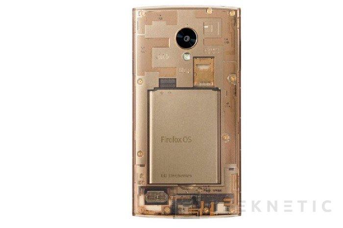 LG Fx0, un smartphone transparente con FireFox OS, Imagen 1