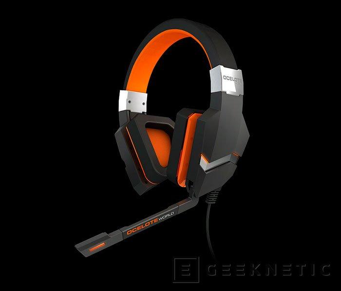 Blast OceloteWord, nuevos auriculares de Ozone Gaming con sonido envolvente virtual, Imagen 1