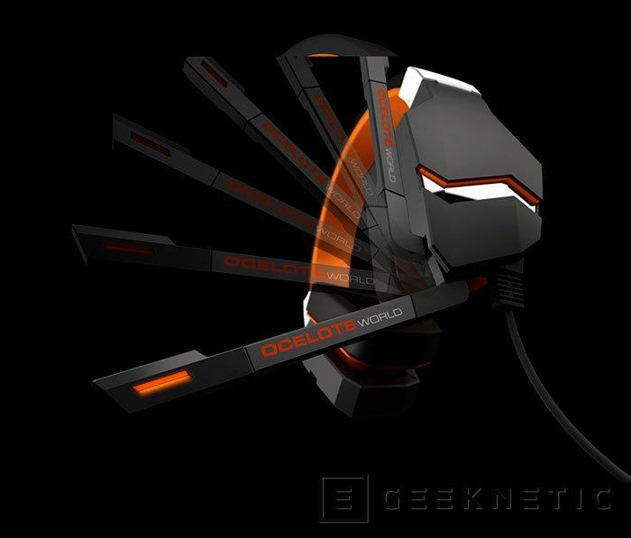 Blast OceloteWord, nuevos auriculares de Ozone Gaming con sonido envolvente virtual, Imagen 2