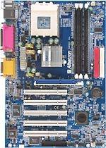Placa Albatron KX600S Pro para alto rendimiento en procesadores, Imagen 1