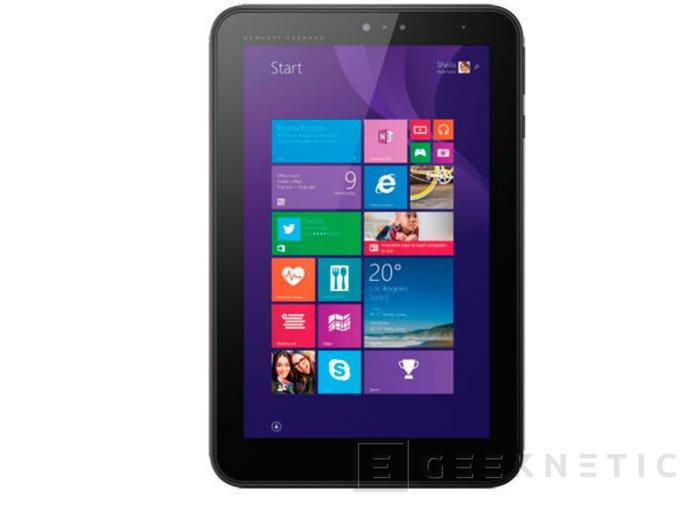 HP apuesta por Windows 8.1 para su Pro Tablet 408 G1, Imagen 1