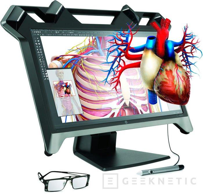 HP sorprende con un monitor de realidad virtual, Imagen 1