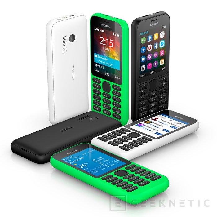 Microsoft lanza el Nokia 215 por 29 Dólares, Imagen 2