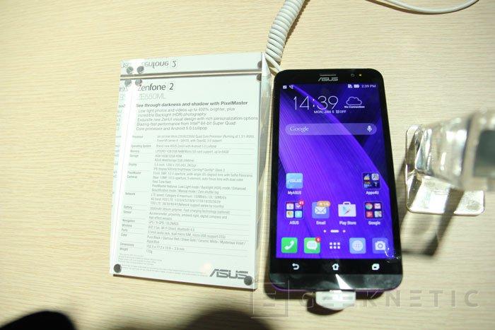 ASUS presenta el  ZenFone 2 con 4 GB de memoria RAM, Imagen 1