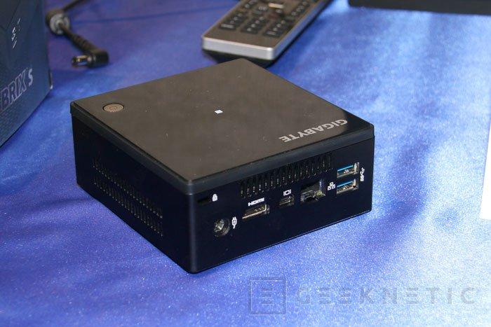Gigabyte añade los nuevos Intel Core de 5ª generación a sus mini PC Brix S, Imagen 1