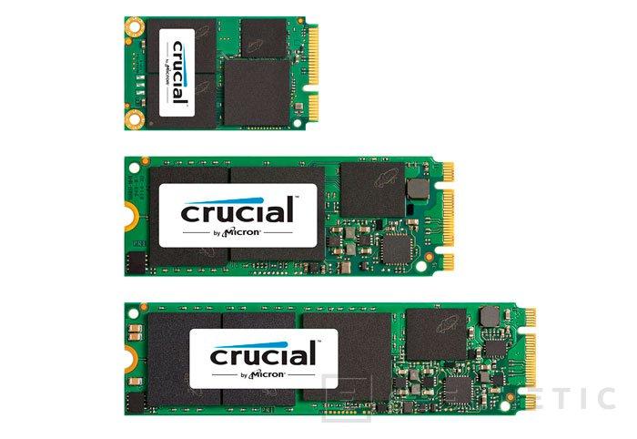 Crucial estrena dos nuevas familias de SSD , Imagen 1
