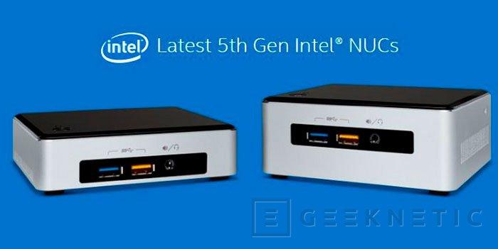 Los Intel Broadwell llegan a los nuevos NUC de la compañía, Imagen 1