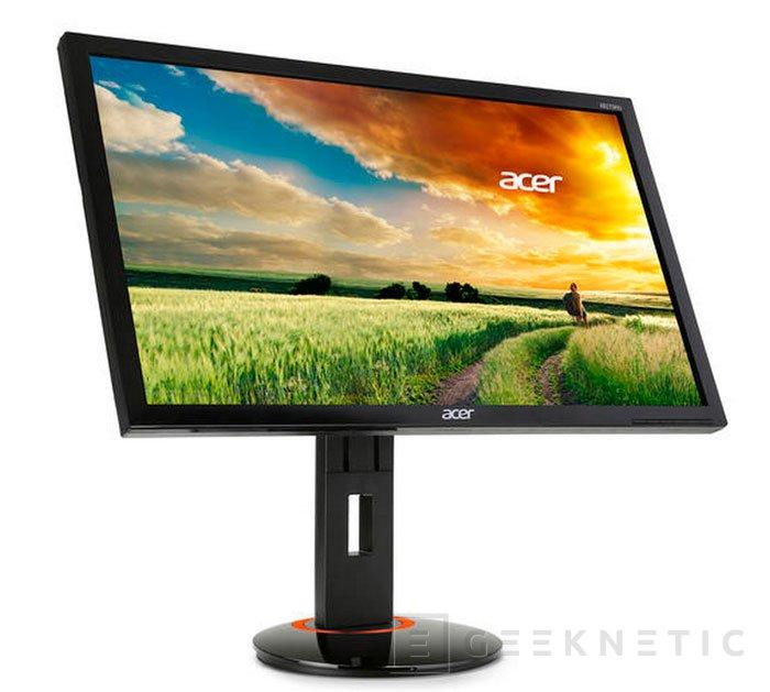 ACER XB270HU, llega el primer monitor IPS con 144 Hz, Imagen 1