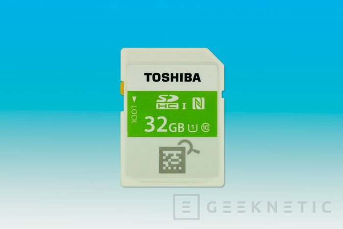El NFC llega a las tarjetas SD de la mano de Toshiba, Imagen 1