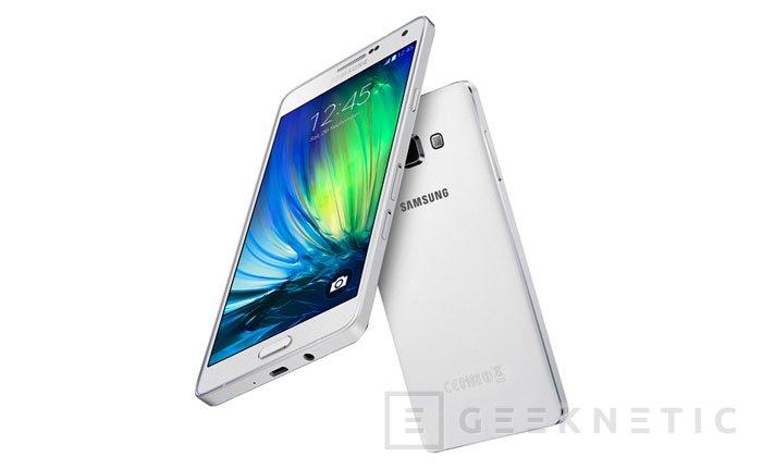 Samsung lanza su terminal más fino hasta la fecha, el Galaxy A7, Imagen 1